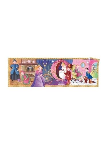 Djeco Djeco Dekoratif Puzzle 36 Parça/Cinderella Pembe